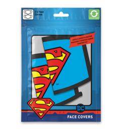 DC Comics: Superman Logo Face Mask (New)