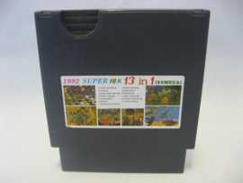 1992 Super HIK 13 in 1 (NES Multi Cart)