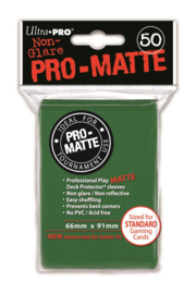 SLEEVES - Pro-Matte Green (New)