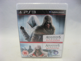 Assassin's Creed Revelations & Brotherhood (PS3, NEW)