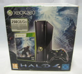XBOX 360 Slim 250GB Console Set 'Halo 4 Pack' (Boxed)
