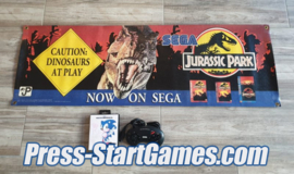 SEGA Jurassic Park Store Display Banner 1992