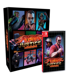 Raging Justice Collector's Edition (Switch, NEW)