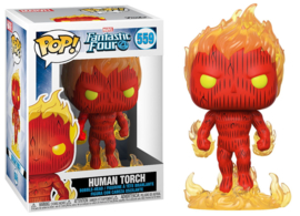 POP! Human Torch - Fantastic Four ( (New)