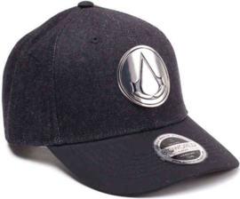 Cap: Assassin's Creed - Metal Crest Denim Snapback (New)