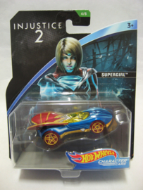 Hot Wheels Character Cars - Injustice 2 - Supergirl (New)