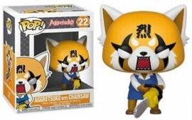 POP! Aggretsuko with Chainsaw - Aggretsuko (New)