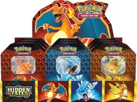 Pokémon TCG: Hidden Fates Tin (New)