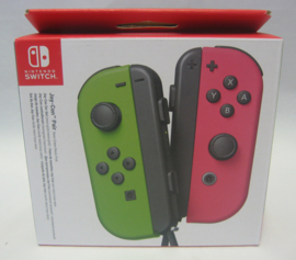 Nintendo Switch Joy-Con Pair - Neon Green / Neon Pink (New)