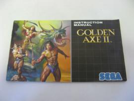 Golden Axe II *Manual*