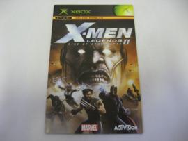 X-Men Legends II - Rise of Apocalypse *Manual* (XBX)