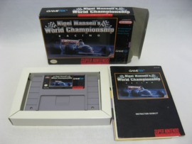 Nigel Mansell's World Championship Racing (USA, CIB)