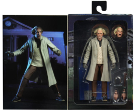 "Back to the Future: Ultimate Doc Brown 7"" Action Figure (New)"
