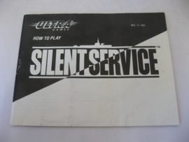 Silent Service *Manual* (USA)