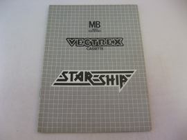 Star Ship *Manual* (Vectrex)