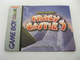 Bugs Bunny in Crazy Castle 3 *Manual* (USA)