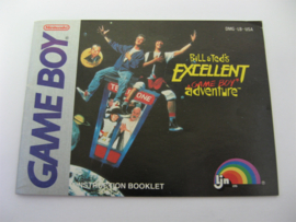 Bill & Ted's Excellent Adventure *Manual* (USA)