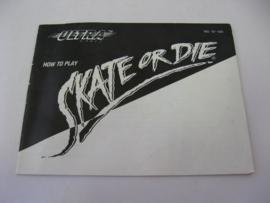 Skate or Die *Manual* (USA)
