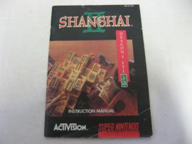 Shanghai II - Dragon's Eye *Manual* (USA)