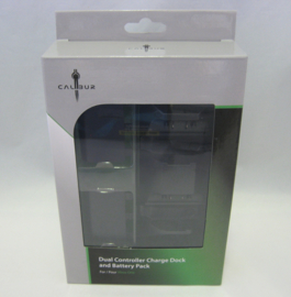 XBOX One - Dual Controller Charge Dock + 2x Battery Pack (New)