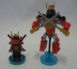 Lego Dimensions - Fun Pack - Lego Ninjago - Nya w/ Base