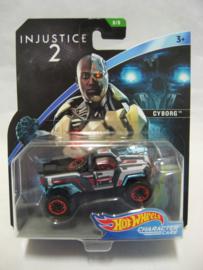 Hot Wheels Character Cars - Injustice 2 - Cyborg (New)