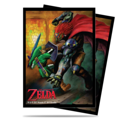 SLEEVES - Zelda Link and Gannon Battle (65) (New)