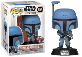 POP! Death Watch Mandalorian (Two Stripes) - Star Wars The Mandalorian - Special Edition (New)