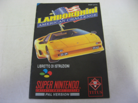 Lamborghini American Challenge *Manual* (ITA)