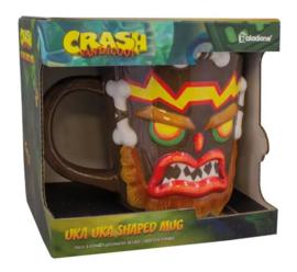 Crash Bandicoot - Uka Uka Shaped Mug (New)