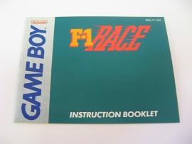 F1 Race *Manual* (USA)