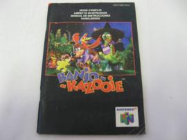 Banjo Kazooie *Manual* (NEU4)