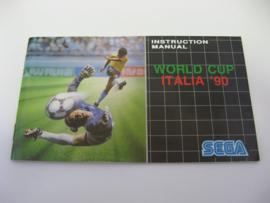 World Cup Italia '90 *Manual*