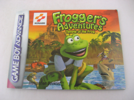 Frogger's Adventures - Temple of the Frog *Manual* (EUR)