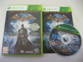 Batman Arkham Asylum - Game of the Year Edition (360)