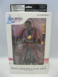 Final Fantasy X Play Arts Action Figure 'Auron' (Boxed)