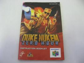 Duke Nukem Zero Hour *Manual* (EUR)