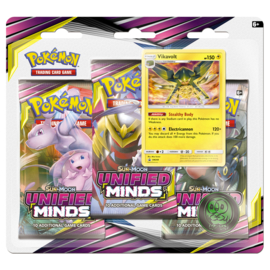 Pokémon TCG: Sun & Moon: Unified Minds 3 Pack (New)