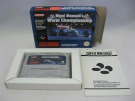 Nigel Mansell's World Championship Racing (FAH, CB)
