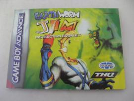 Earthworm Jim *Manual* (EUR)