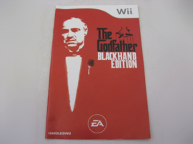 Godfather II Blackhand Edition *Manual* (HOL)