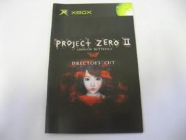 Project Zero II *Manual* (XBX)