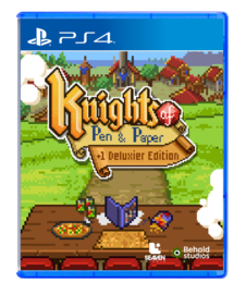 Knights of Pen & Paper +1 Deluxier Edition (PS4, NEW)