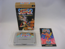 Super Street Fighter II (SFC, CIB)