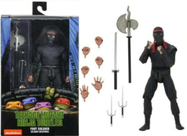 "Teenage Mutant Ninja Turtles: Foot Soldier with Bladed Weapons (1990 Ver.) - 7"" Action Figure (New)"