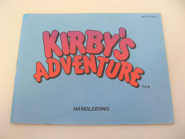Kirby's Adventure *Manual* (HOL)