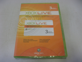 XBOX Live - 3 Month Gold Membership (New)