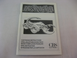 Destructor *Manual* (CV)
