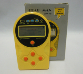 Grab Man - GM 16 - Game & Time - LCD Game (Boxed)