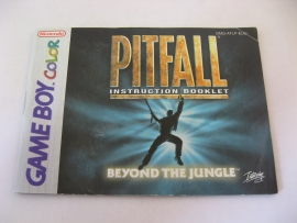Pitfall - Beyond the Jungle *Manual* (EUU)